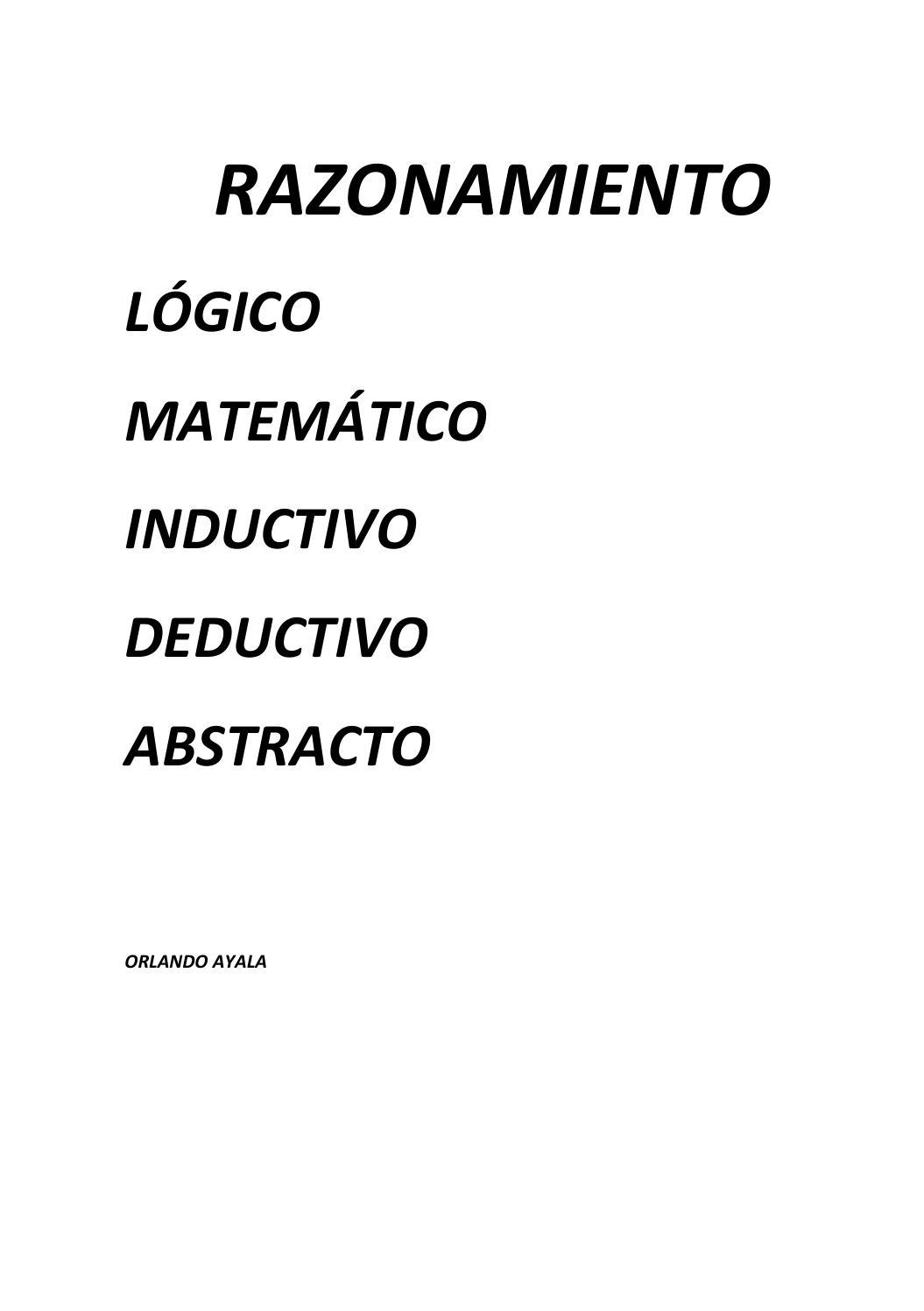 Razonamiento by Johana Jumbo - issuu