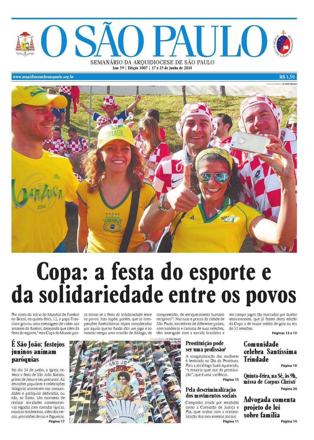 O SÃO PAULO - edição 3007 by jornal O SAO PAULO - issuu 491508732d5e0