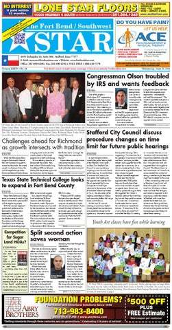 June 25 2014 Fort Bend Community Newspaper By Fort Bend