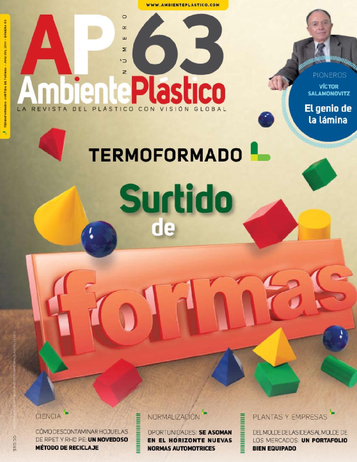 Ambiente Plástico 63 by Ambiente Plastico - issuu 50f63e9e9064