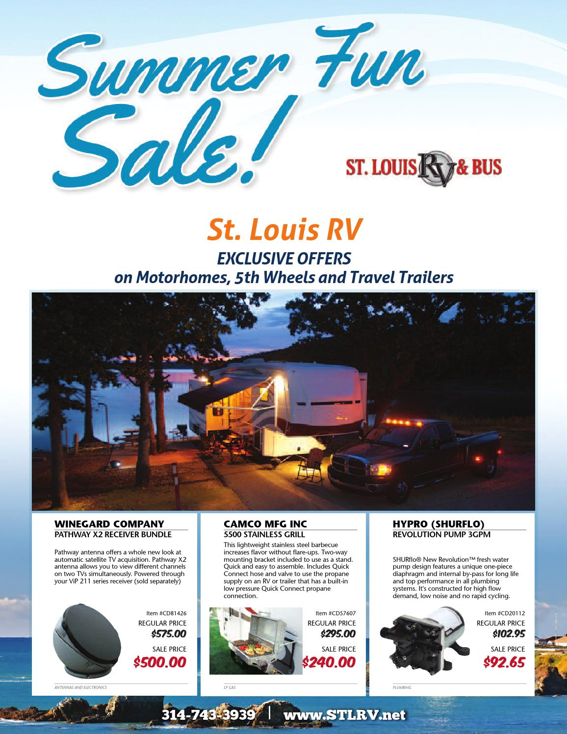 Summer Fun Sale By St Louis Rv Issuu Arcon Power Cord Adapter 110v 30 Amp Female To 15 Male 9