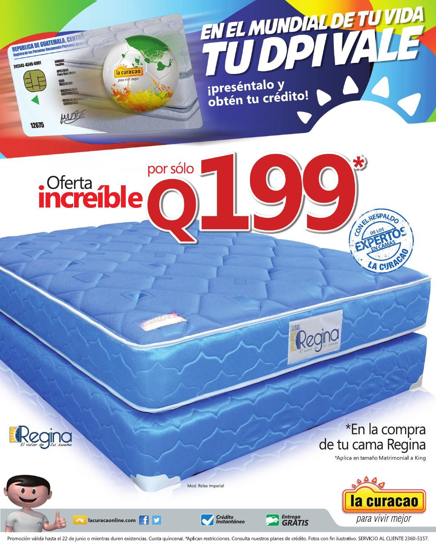 Incre ble oferta de camas regina by lacuracao guatemala for Ofertas de camas