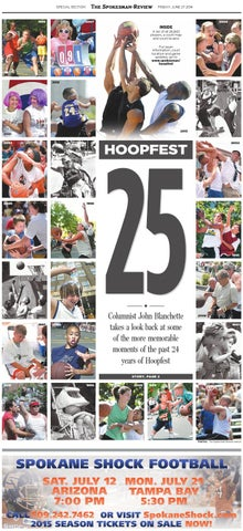 Hoopfest, june 27, 2014 by Cowles Publishing - issuu