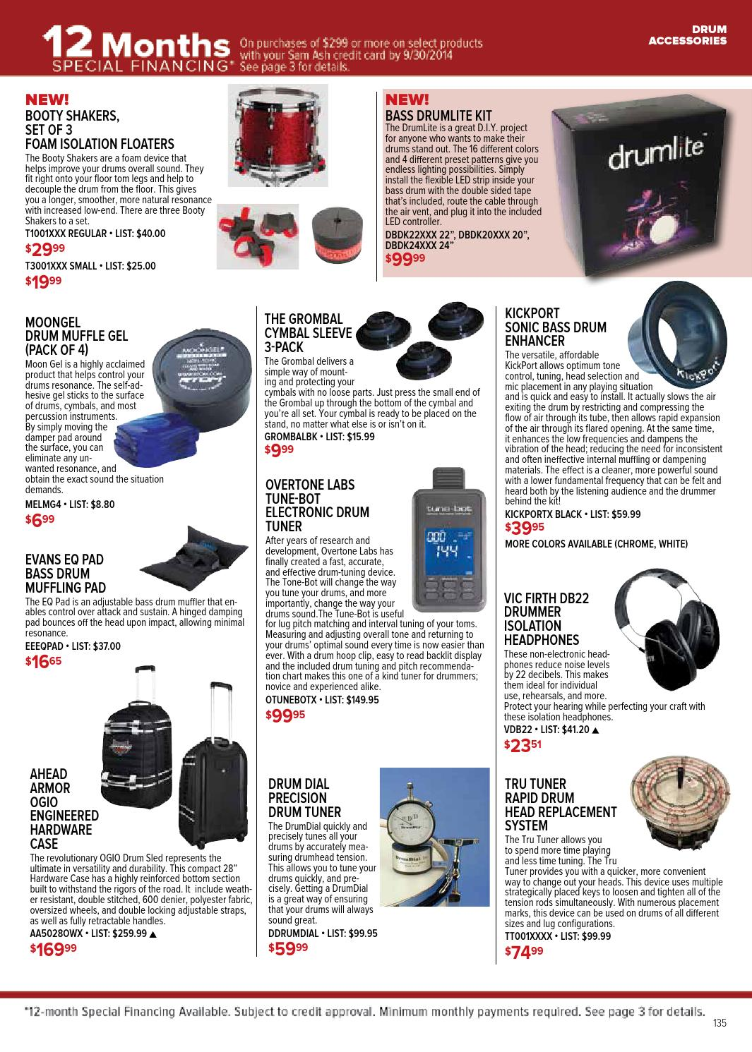 Summer 2014 Sam Ash GearGuide by Sam Ash Music Corp  - issuu