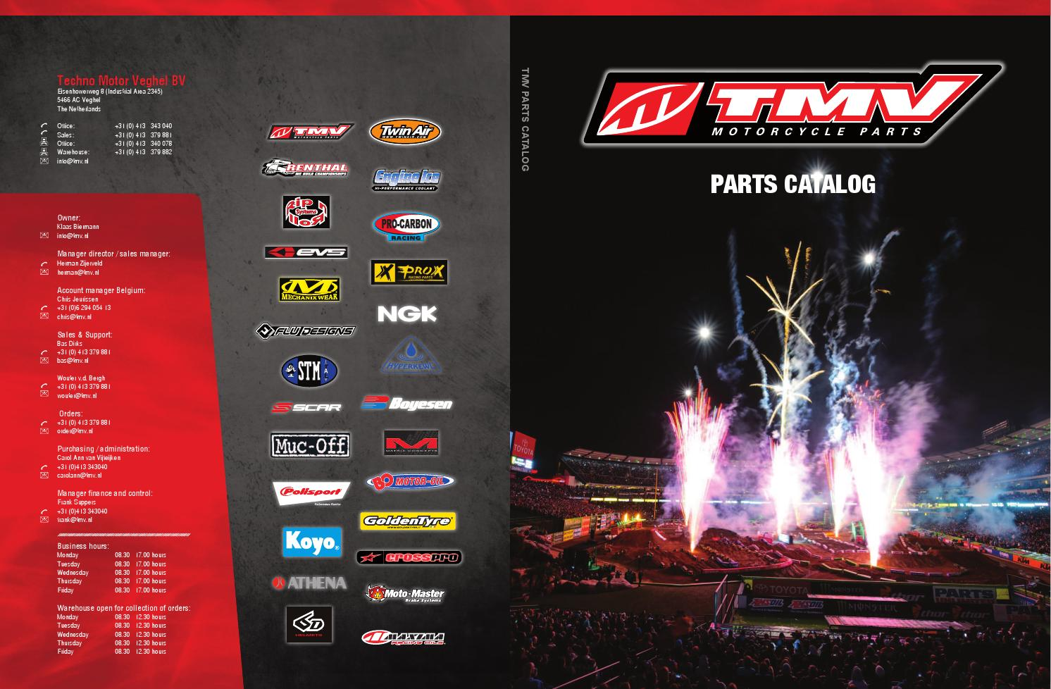 Tmv Catalog 2014 By Motorcycle Parts And Acc Issuu 08 Kawasaki Kfx450r Wiring Diagram