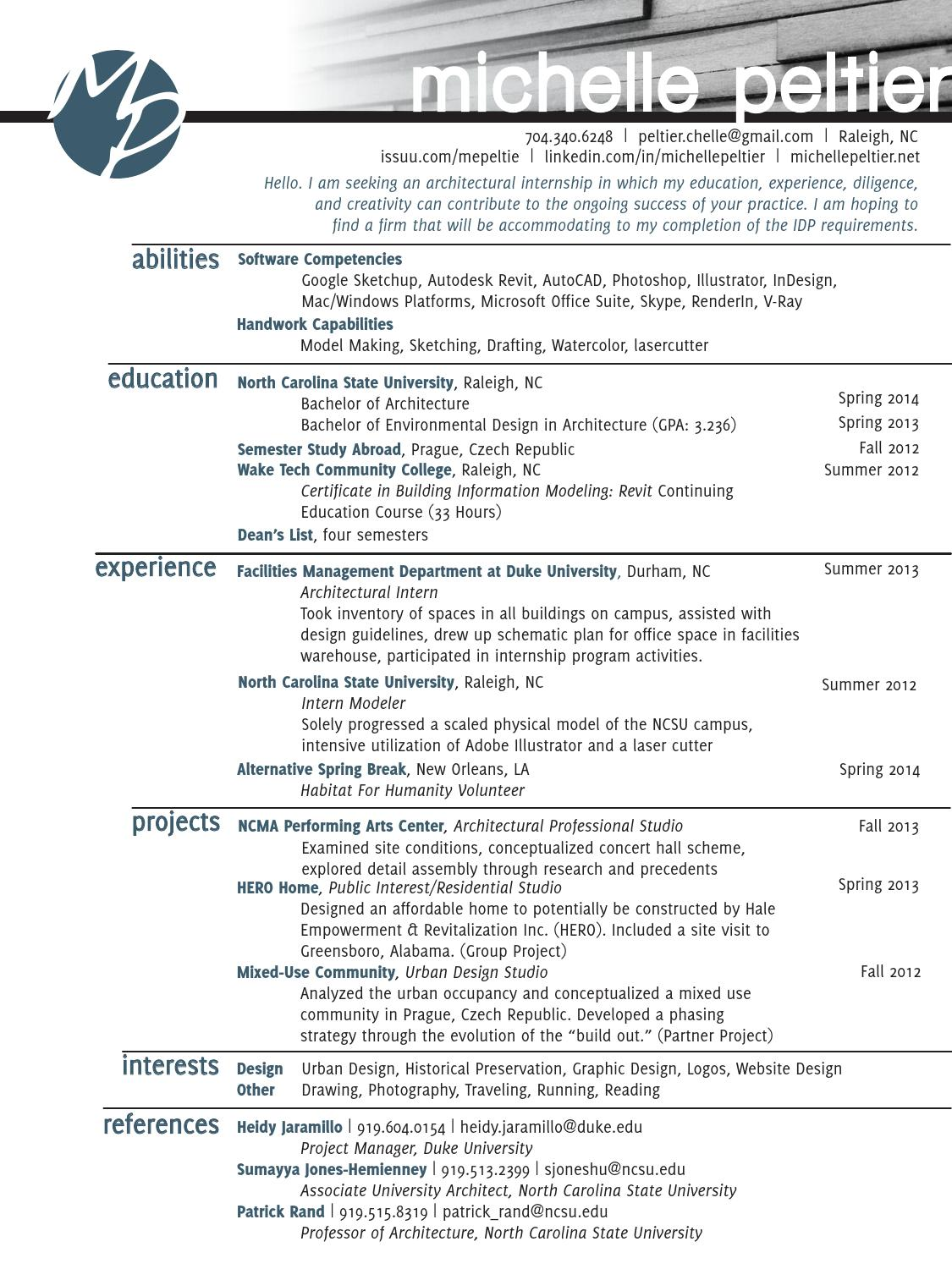 michelle peltier cv  work samples by michelle peltier