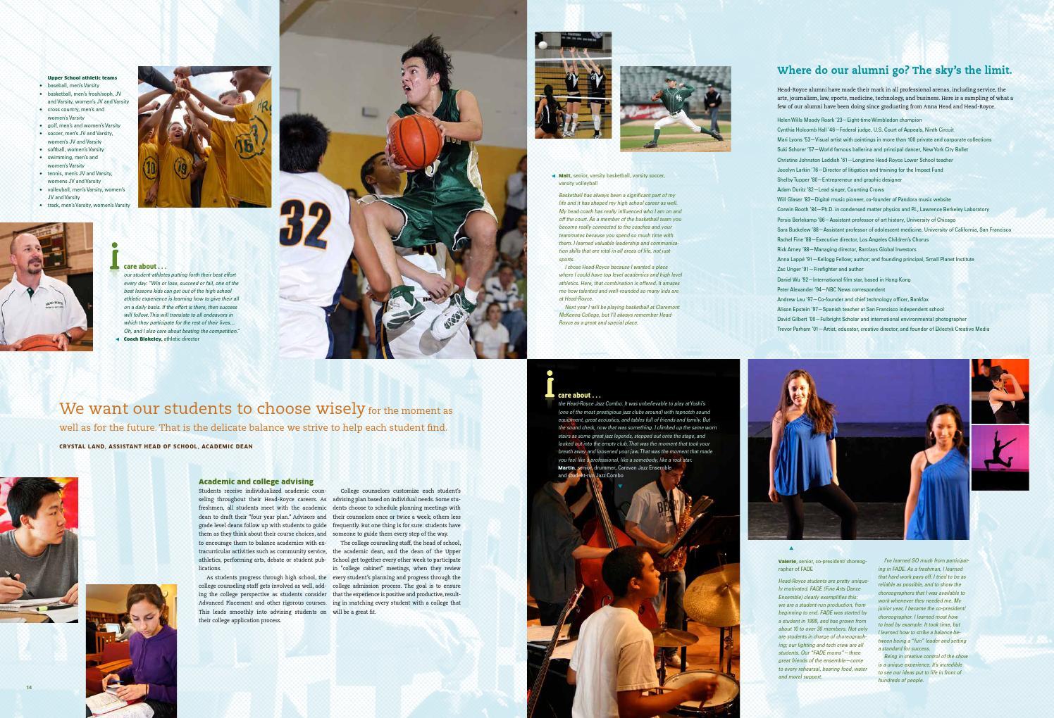 Head-Royce Viewbook by Head-Royce School - issuu