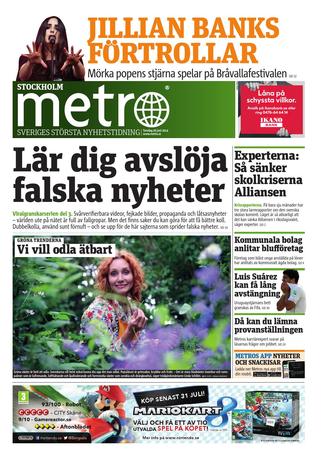 the best attitude 1c049 02939 20140626 se stockholm by Metro Sweden - issuu