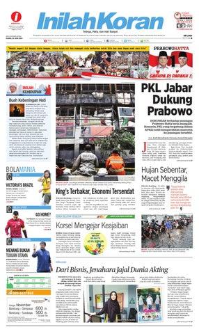 Pkl Jabar Dukung Prabowo By Inilah Koran Issuu