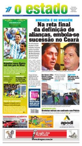 Edição 22285 - 26 de junho de 2014 by Jornal O Estado (Ceará) - issuu c9b6c316faf