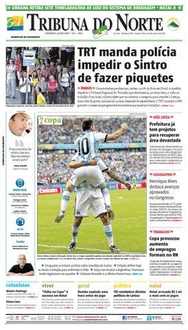 Tribuna do Norte - 26 06 2014 by Empresa Jornalística Tribuna do ... aa7493dec4664