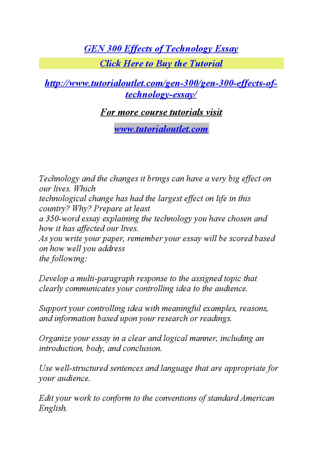 Buy technology essay how to write a funny blog