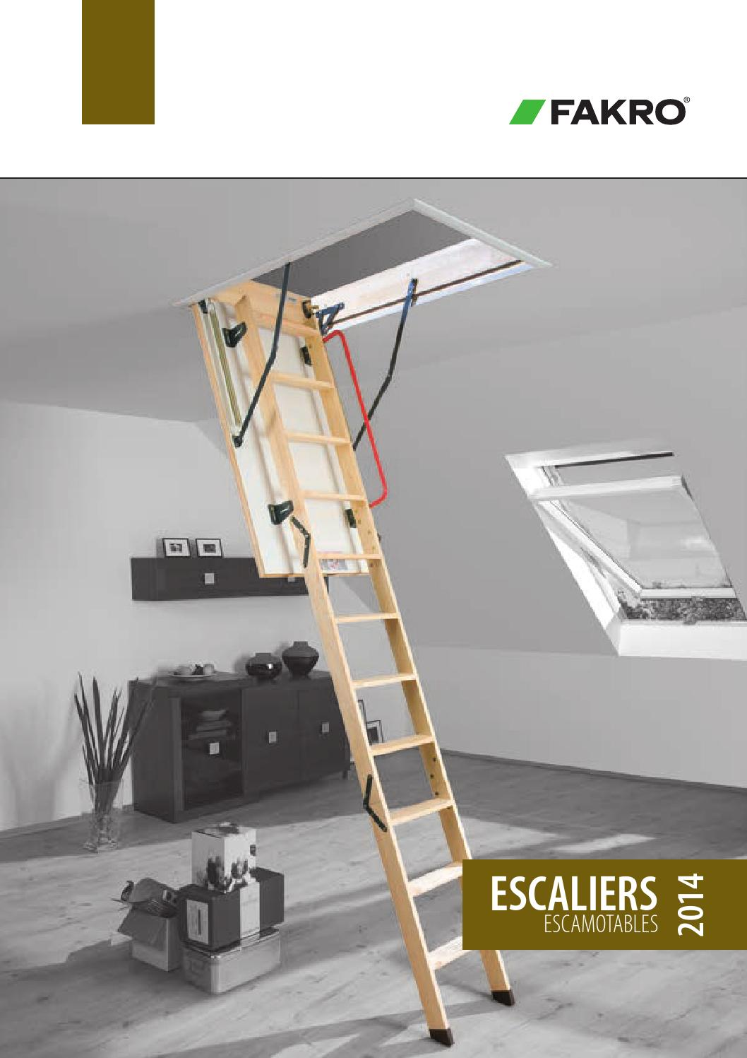 fr escaliers escamotables by fakro issuu. Black Bedroom Furniture Sets. Home Design Ideas