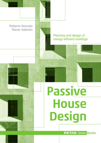 DETAIL Green Books Passive House Design by DETAIL - issuu