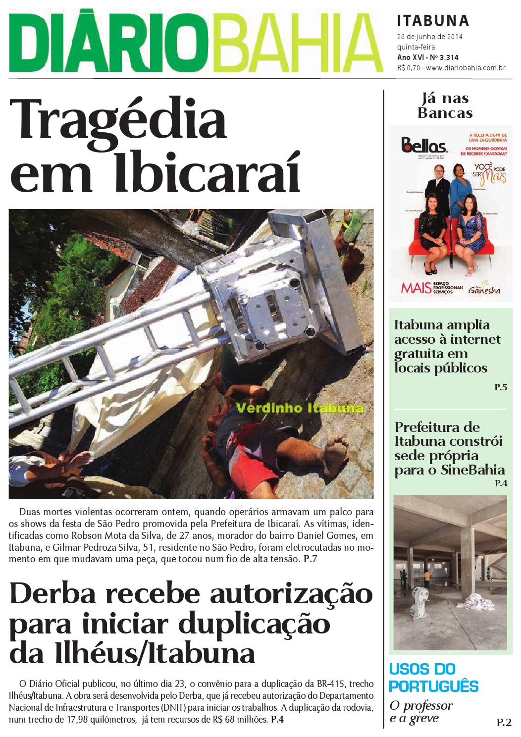 26 06 2014 by Diario Bahia - issuu 53f8cbe899
