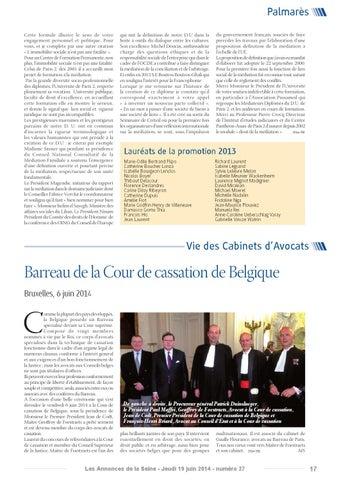 Edition Du Lundi 19 Juin 2014 By Annonces De La Seine Issuu