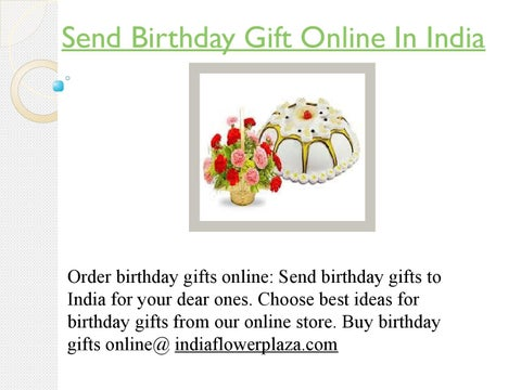 Page 1 Send Birthday Gift Online In India