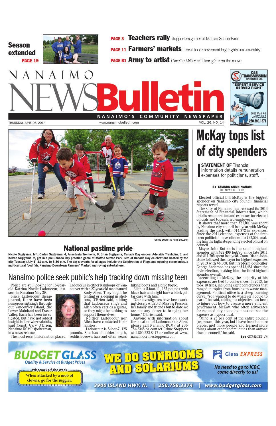 Bathmaster Nanaimo nanaimo news bulletin, june 26, 2014black press - issuu