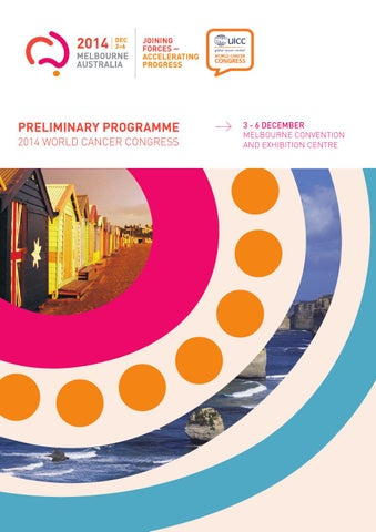 Preliminary Programme 2014 World Cancer Congress By Uicc Issuu