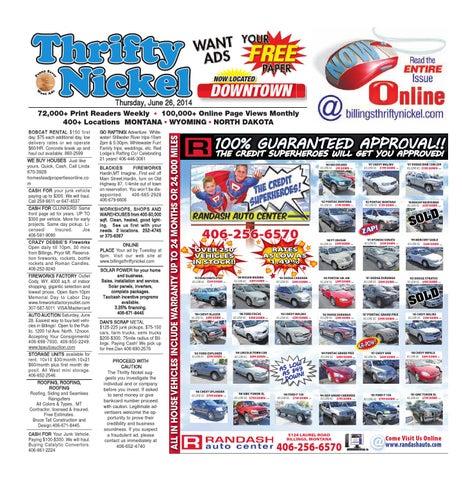 Thrifty Nickel June 26 by Billings Gazette - issuu on