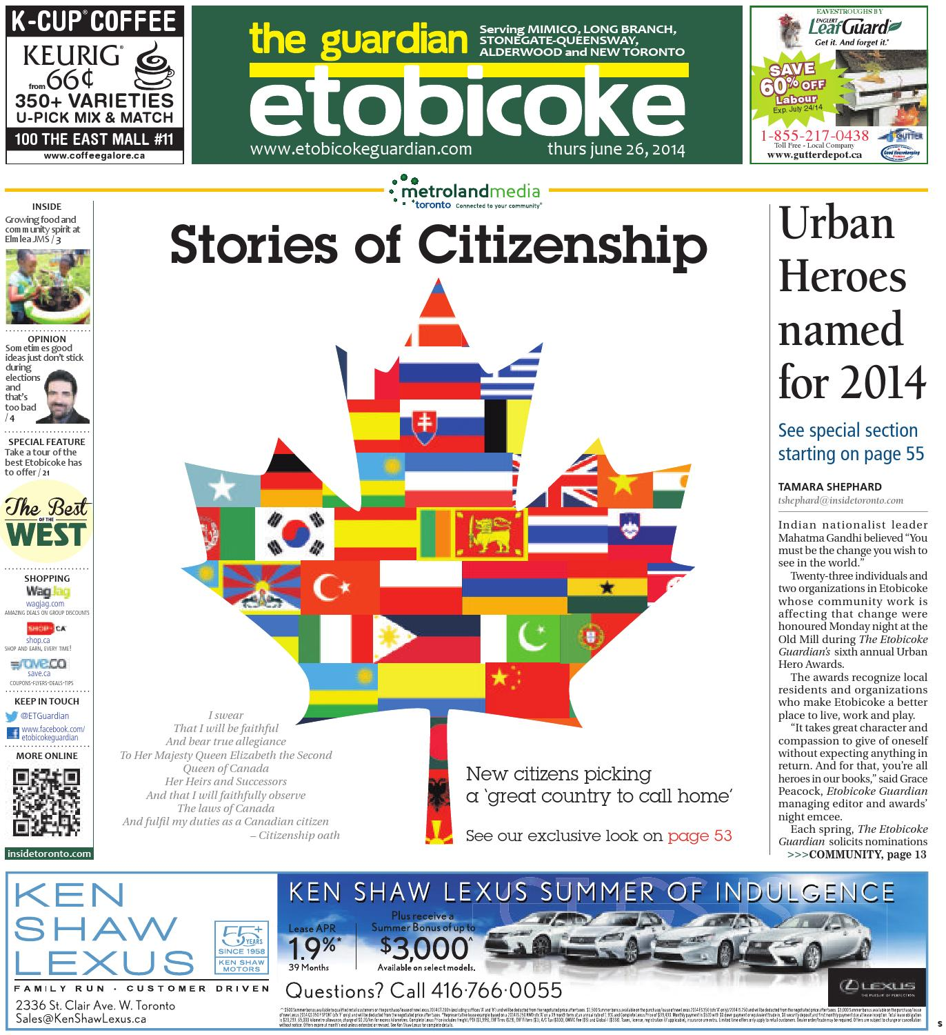 June South By The Etobicoke Guardian Issuu - Invoice maker free download rocco online store