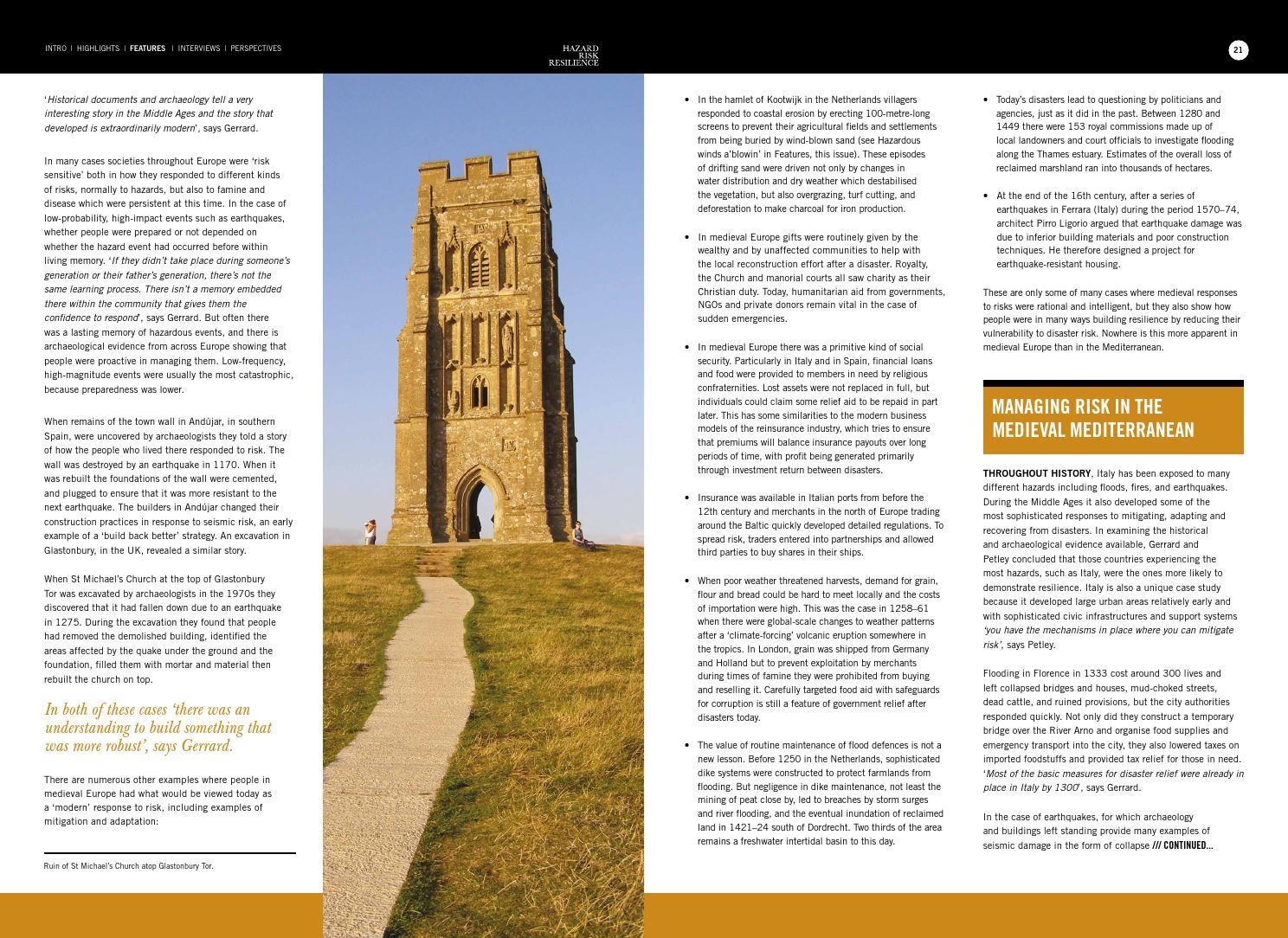 Hazard Risk Resilience Magazine Summer 2014 by IHRR - issuu