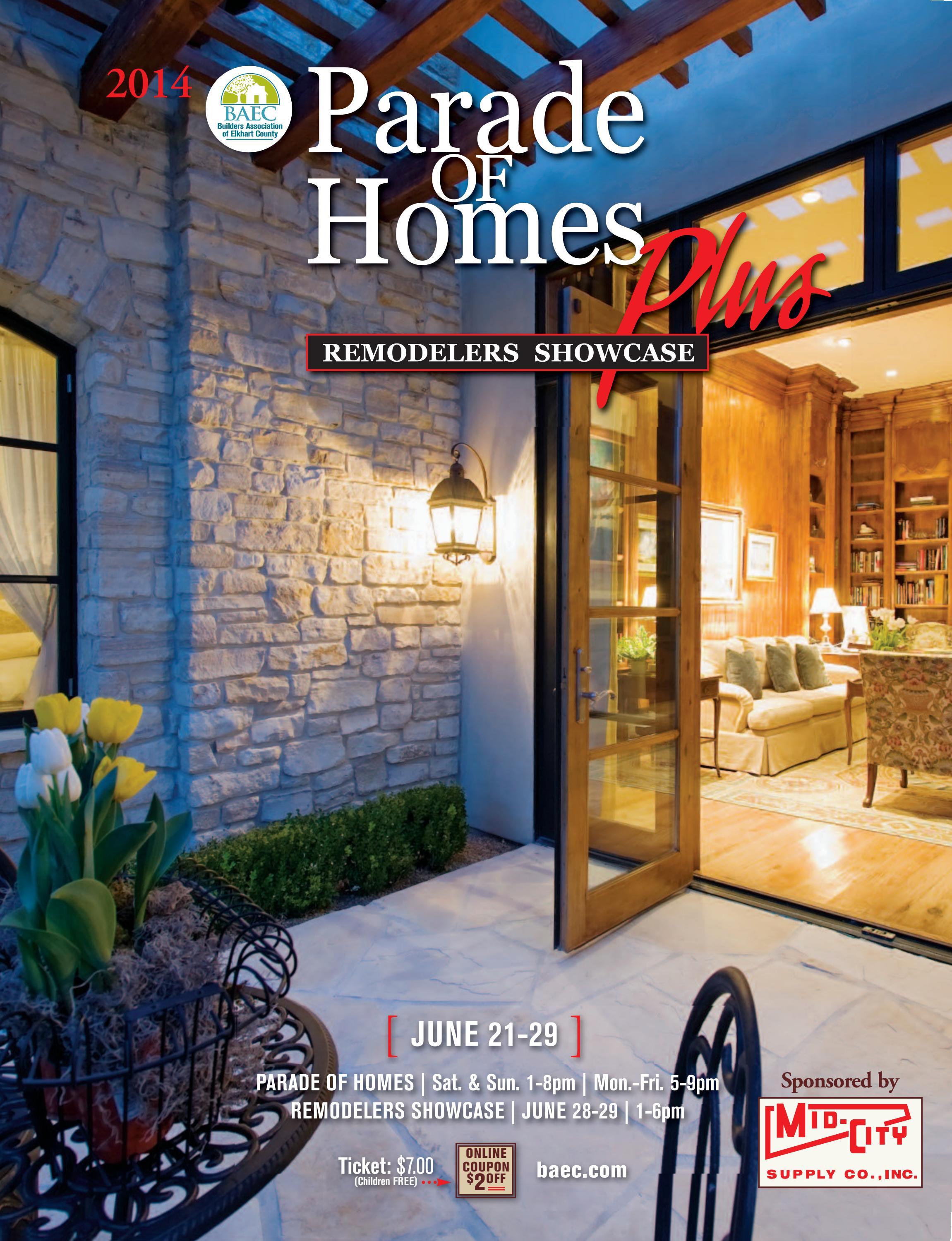 2014 Parade Of Homes Plus Amp Remodelers Showcase Magazine