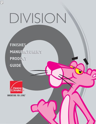 Finishes Manufacturer S Product Guide By Conwed