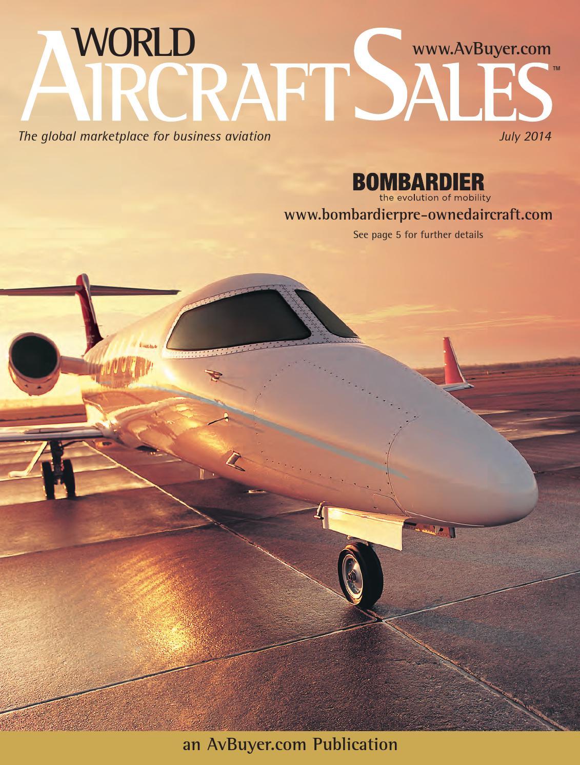 World Aircraft Sales Magazine July 2014 by AvBuyer Ltd  - issuu