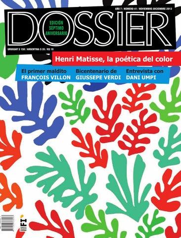 d0d795bb2e25 Dossier 41 by Revista Dossier - issuu