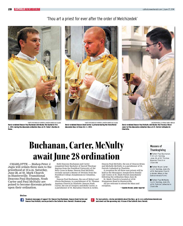 June 27, 2014 by Catholic News Herald - issuu