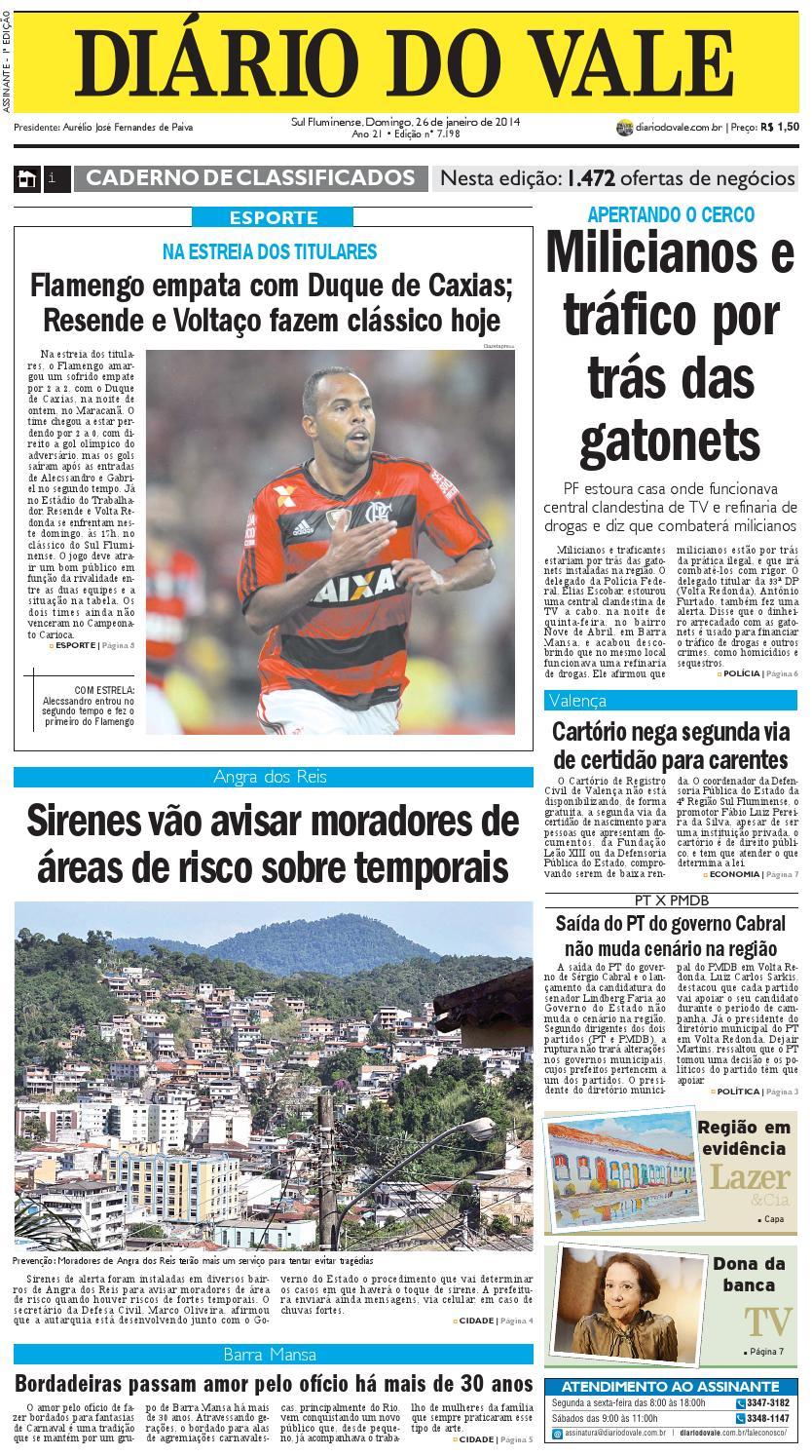 7198 diario do vale domingo 26 01 2014 by Diário do Vale - issuu dba1b5a2ed3fe