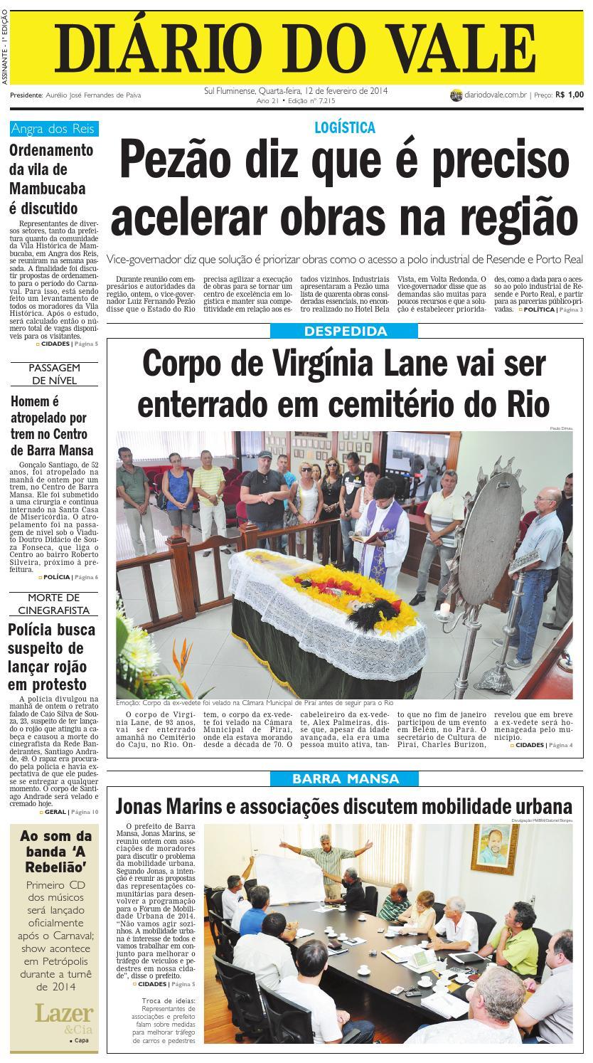 0026e3b552e99 7215 diario quarta feira 12 02 2014 by Diário do Vale - issuu