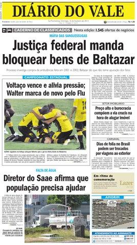 7219 diario do vale domingo 16 02 2014 by Diário do Vale - issuu 18bf7a7c95