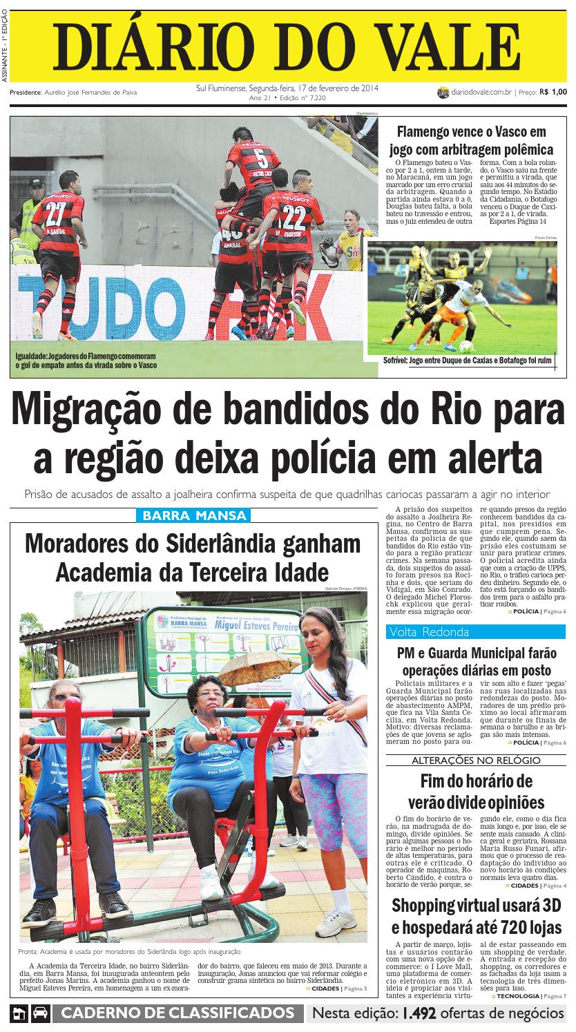 097a83b23d9 7220 diario segunda feira 17 02 2014 by Diário do Vale - issuu
