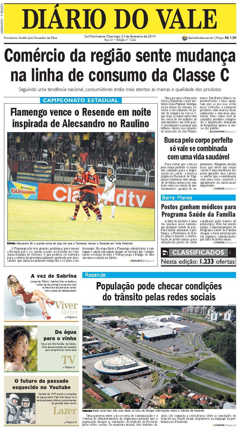 7226 diario domingo 23 02 14 by Diário do Vale - issuu 1c0595fec515d