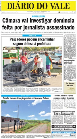 7228 diario terça feira 25 02 2014 by Diário do Vale - issuu 4c0d7413253d5