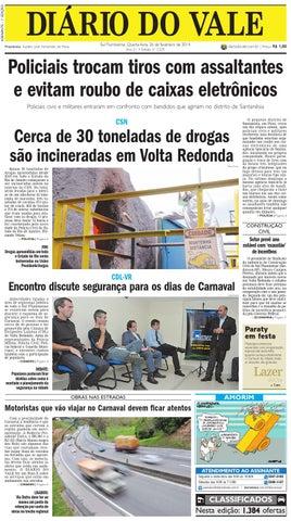 7229 diario do vale quarta feira 26 02 2014 by Diário do Vale - issuu b4a368e030e5c