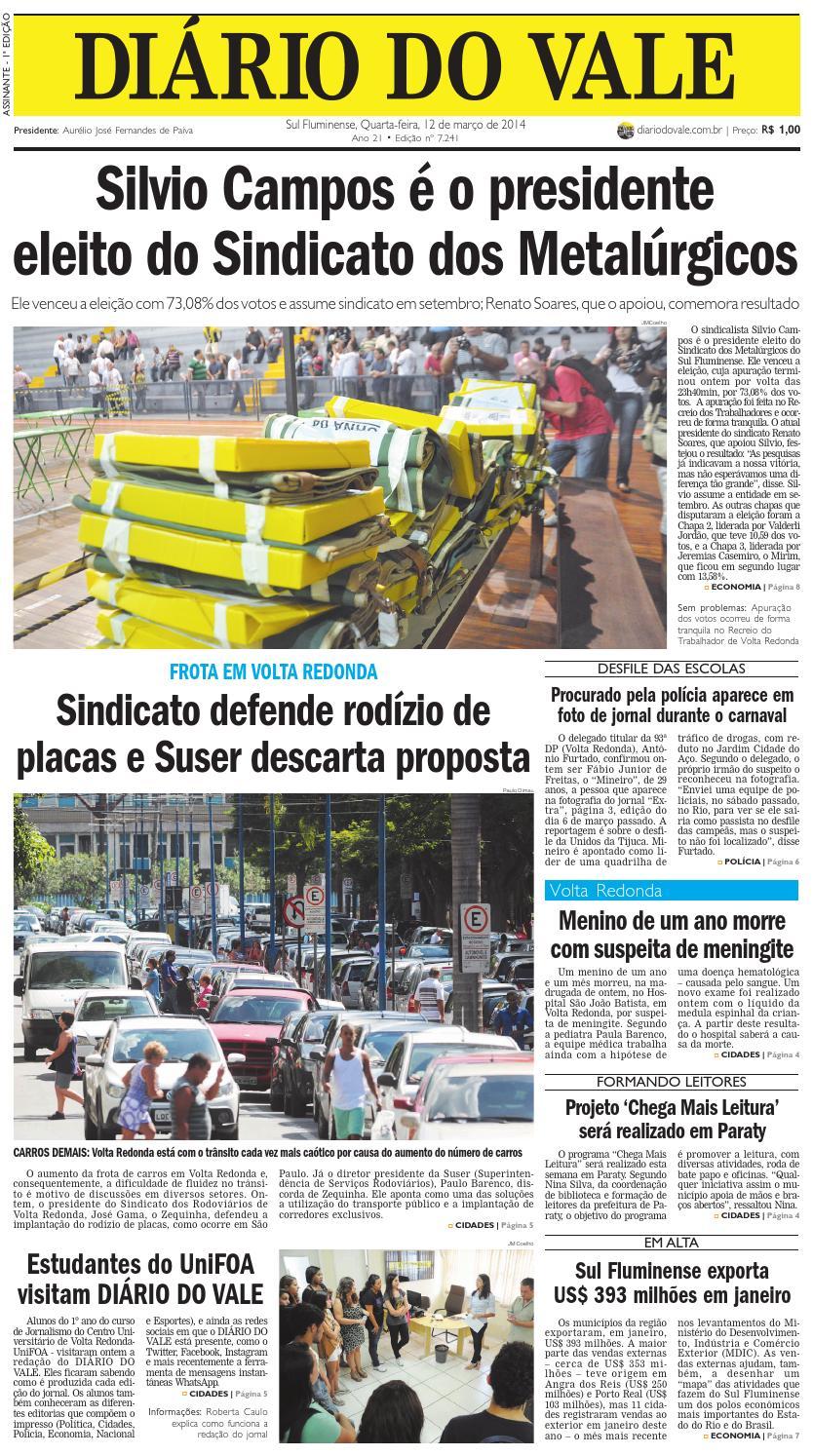 777a8b4e7f 7241 diario do vale quarta feir a 12 03 2014 by Diário do Vale - issuu