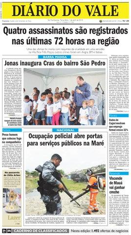 7261 diario terca feira 01 04 2014 by Diário do Vale - issuu 6c4d122177f
