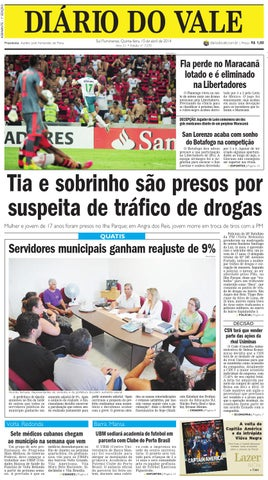 7270 diario quinta feira 10 04 2014 by Diário do Vale - issuu 9b8fd3b7794