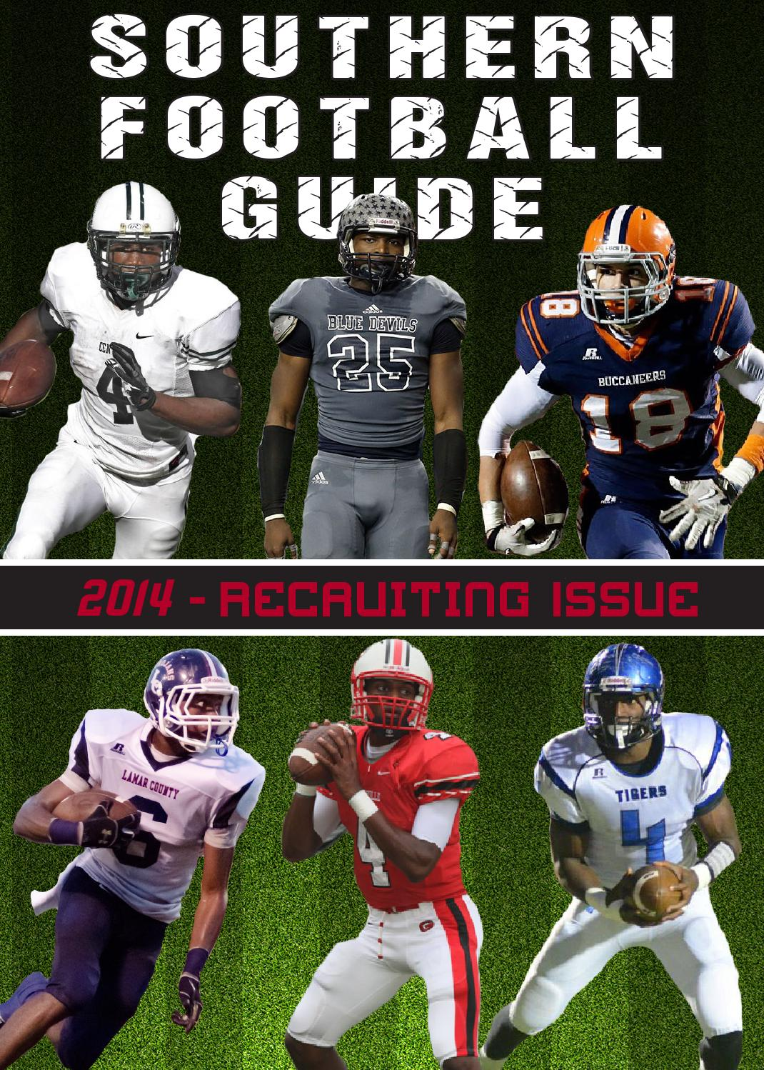 2014 southern football guide recruiting issue by jason martin