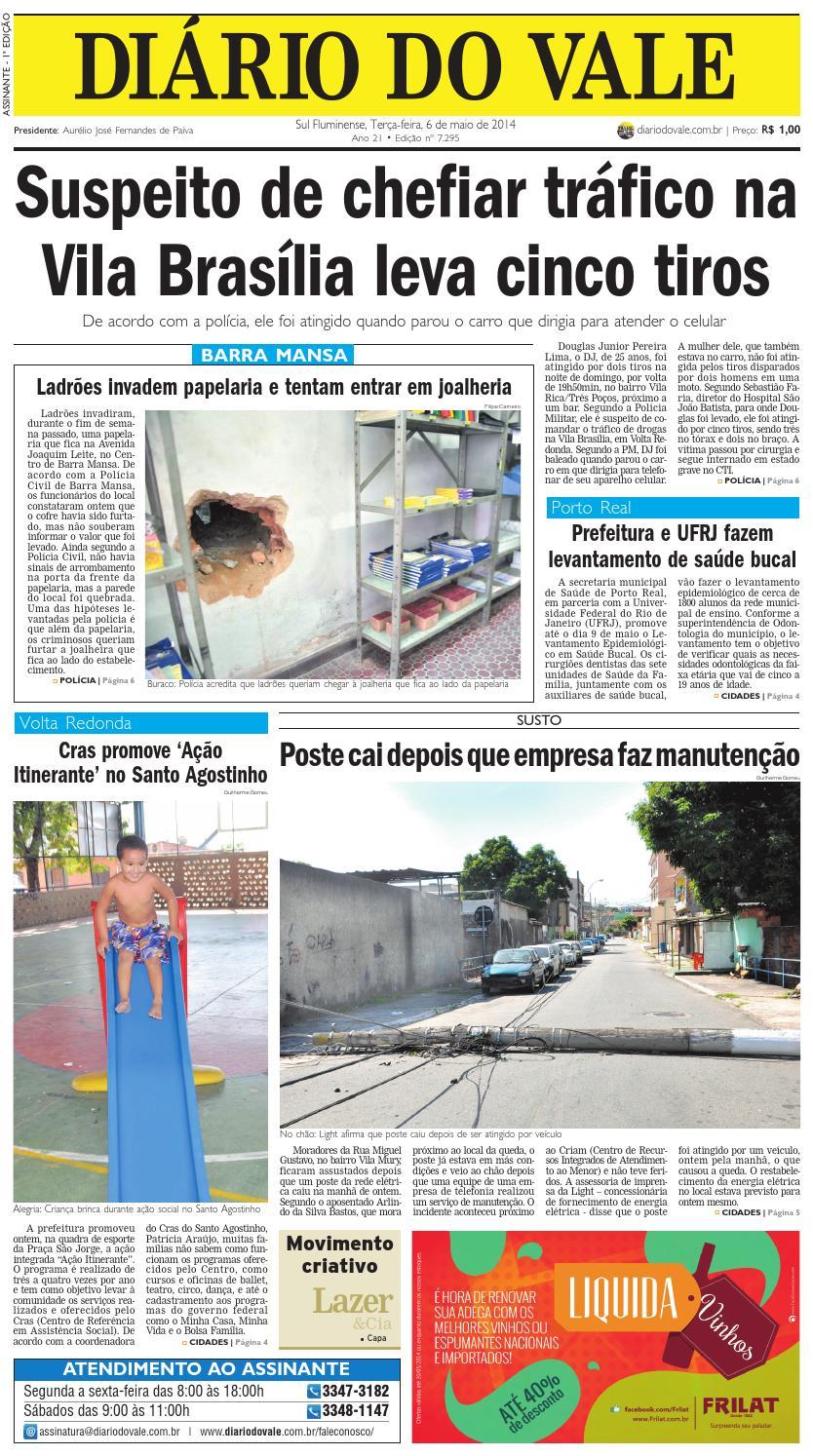 8a0c8e7c4b8 7295 diario terca feira 06 05 2014 by Diário do Vale - issuu