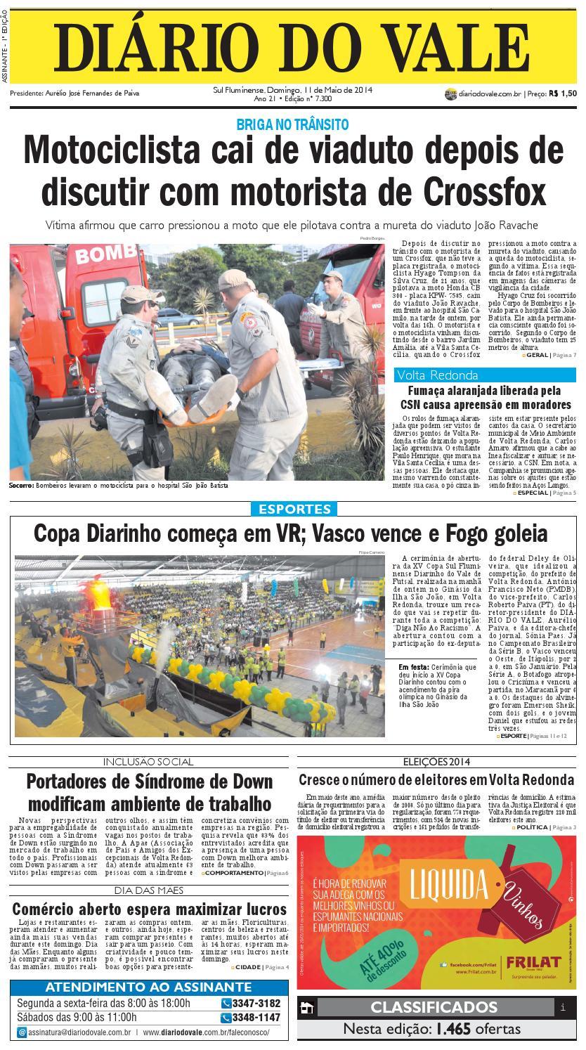 Completo 7300 diario domingo 11 05 2014 by Diário do Vale - issuu 3b5ea994e4f