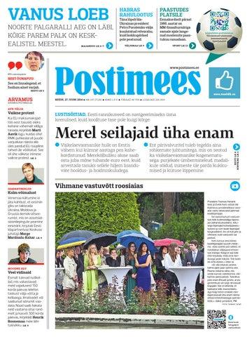 9e3cdd2620e Postimehe paberleht 27 06 2014 by Postimees - issuu