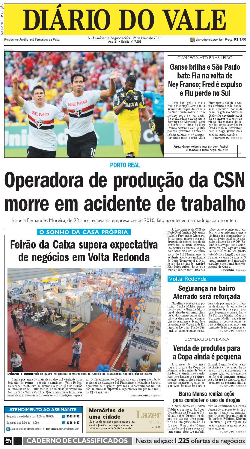 41098358c8 7308 diario segunda feira 19 05 2014 by Diário do Vale - issuu