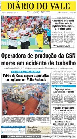 7308 diario segunda feira 19 05 2014 by Diário do Vale - issuu 4d89b8da61cbe