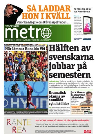 best service 7d7ab 288e4 20140627 se stockholm by Metro Sweden - issuu