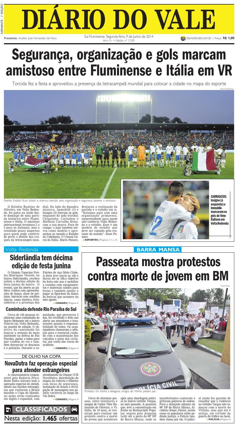 ab666e9ee1 7329 diario do vale segunda feira 09 06 2014 by Diário do Vale - issuu