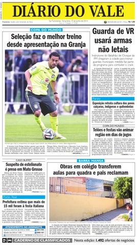 7330 diario terca feira 10 06 2014 by Diário do Vale - issuu 24c673d5c6